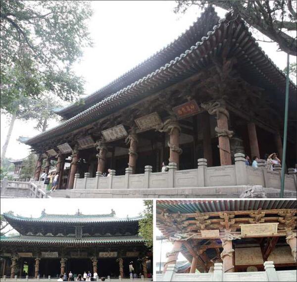 Храм Шенмудянь (1102-1106) в монастыре Цзиньцы в провинции Шаньси – один из дошедших до нас деревянных памятников архитектуры, построенных с использованием системы доугун