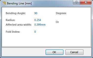 Рис. 9. Окно Bending Line