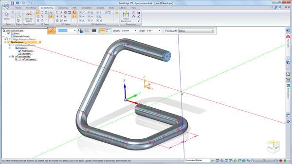 Возможности построения 3D-эскизов значительно расширились