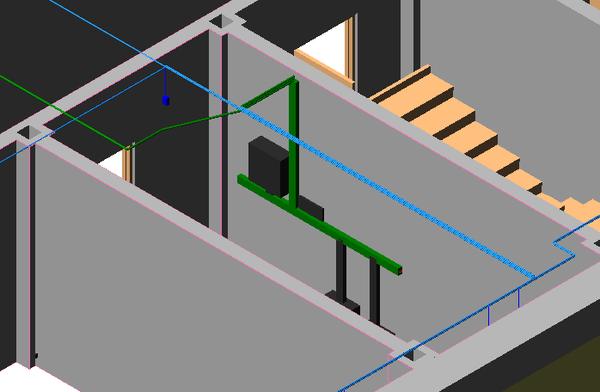 Шкаф в 3D-модели