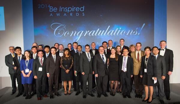 Финалисты конкурса Be Inspired 2014