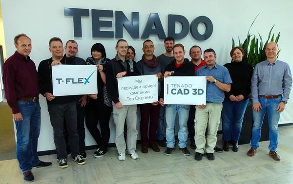 Команда TENADO объявила о сотрудничестве с компанией «Топ Системы»