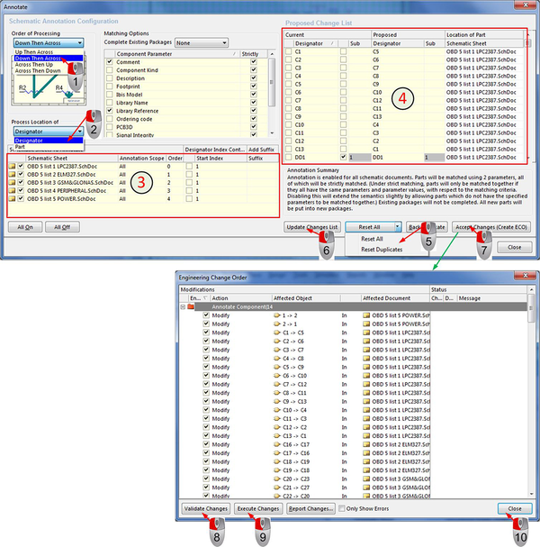 Автоматизированная нумерация компонентов