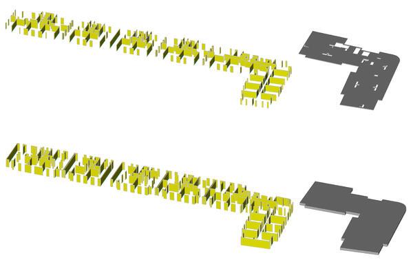 Фрагменты (части) здания в препроцессоре ФОРУМ