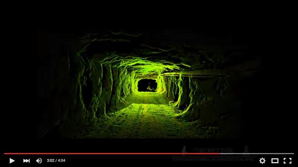 Пример создания трехмерной модели заброшенной шахты