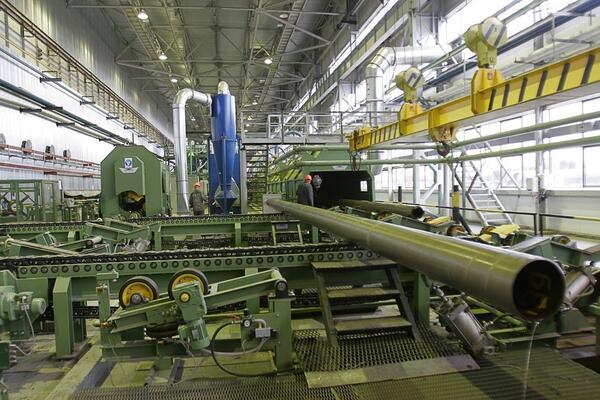 Рис. 1. Трубоэлектросварочный цех № 3 АО «Выксунский металлургический завод»