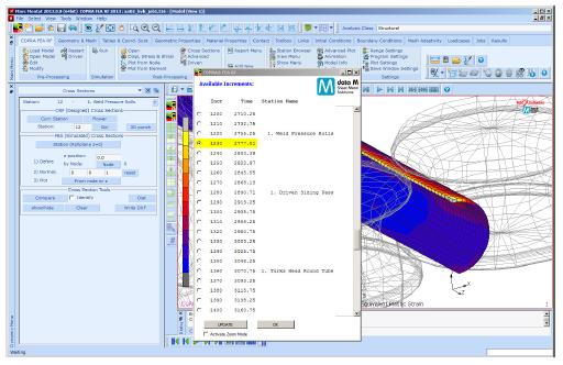 Файл результатов включает в себя все данные с учетом отдельных этапов моделирования между перезапусками