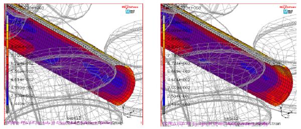 Уточнение КЭ-сетки для следующих этапов формообразования трубной заготовки