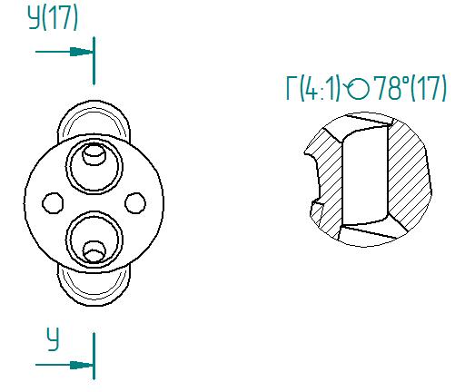 Рис. 3. Перенос и поворот вида