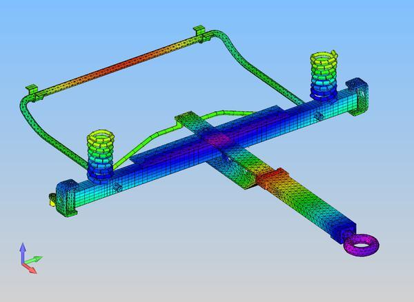 Femap - инструмент, способный взаимодействовать со всем многообразием CAD-пакетов, используемых клиентами