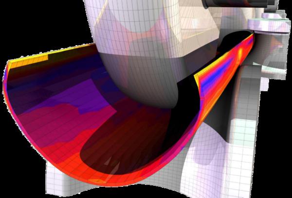 Рис. 2. Форма непроформованных участков