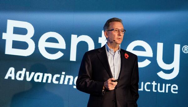 Грег Бентли (Greg Bentley), главный исполнительный директор компании Bentley