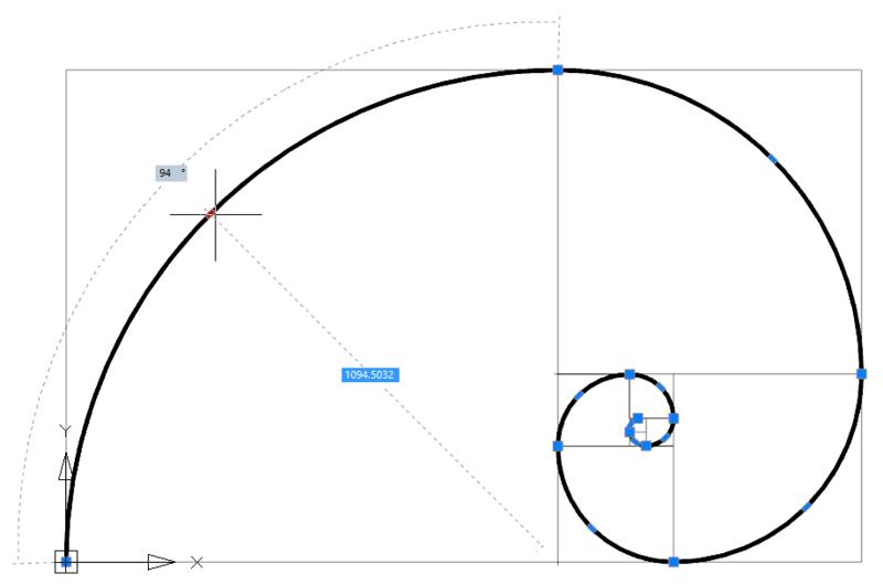 Рис. 2. Динамический ввод позволяет удобнее создавать и редактировать чертежи