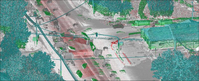 Лазерное сканирование реальной модели существующего объекта