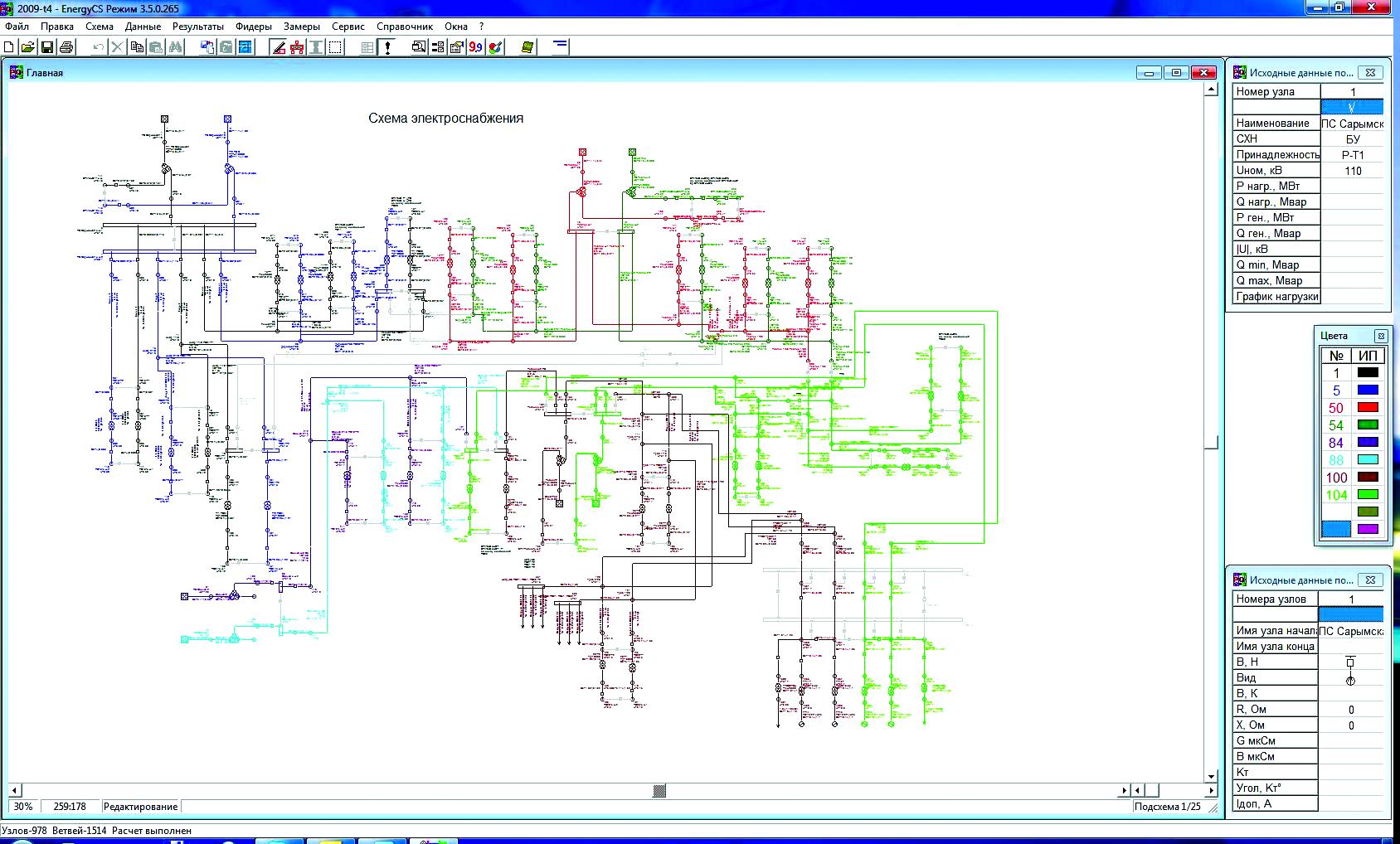 однолинейная схема электроснабжения и их обозначения