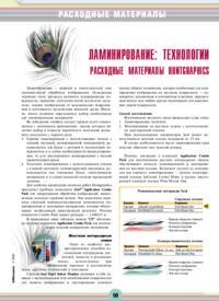 Журнал Ламинирование: технологии и расходные материалы Huntgraphics