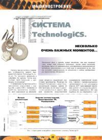 Журнал Система TechnologiCS. Несколько очень важных моментов…