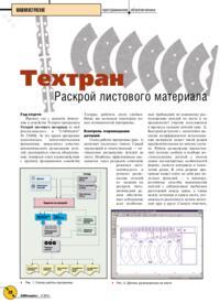 Журнал Техтран Раскрой листового материала 2