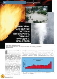 Журнал Контргайка для единой системы мониторинга опасных природных процессов