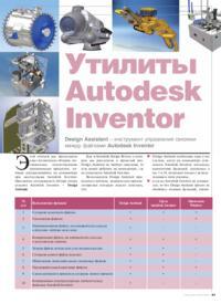 Журнал Утилиты Autodesk Inventor. Design Assistant - инструмент управления связями между файлами Autodesk Inventor