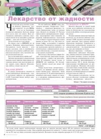 Журнал Лекарство от жадности
