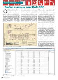 Журнал Выбор в пользу nanoCAD ОПС