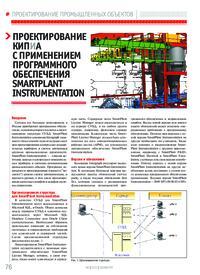 Журнал Проектирование КИПиА с применением программного обеспечения SmartPlant Instrumentation