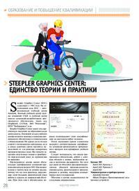 Журнал Steepler Graphics Center: единство теории и практики