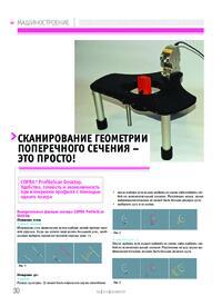 Журнал Сканирование геометрии поперечного сечения - это просто!