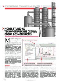 Журнал Model Studio CS Технологические схемы: обзор возможностей