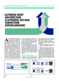 Журнал Autodesk Revit Architecture и Autodesk 3ds Max: совместное использование
