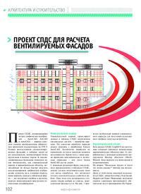 Журнал Проект СПДС для расчета вентилируемых фасадов