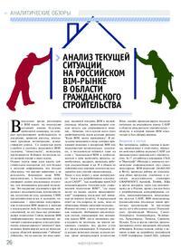 Журнал Анализ текущей ситуации на российском BIM-рынке в области гражданского строительства