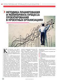 Журнал Методика планирования и мониторинга процесса проектирования в проектных организациях