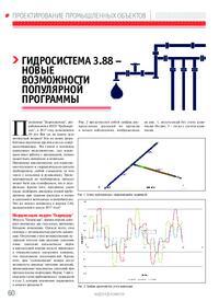 Журнал Гидросистема 3.88 - новые возможности популярной программы