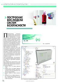 Журнал Построение BIM-модели систем безопасности