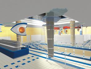 Варианты визуализации торгового зала