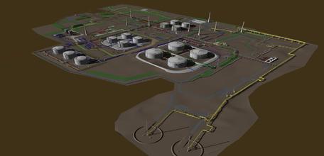 Рис. 1. Трехмерная модель, выполненная средствами Model Studio CS в институте
