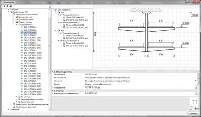Рис. 2. Типовая конструкция DKC-02.TC.0101 в базе данных оборудования nanoCAD Электро ДКС