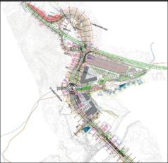 План развязки Ново-Место – восток на магистраль A2