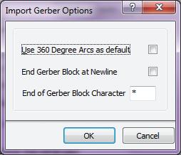Рис. 3. Настройка дополнительных параметров gerber-файлов