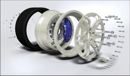 «Подбор материала для диска автомобильного колеса», автор Дмитрий Мухин